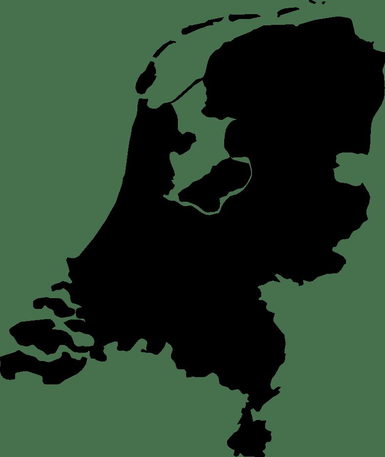 nl kaart